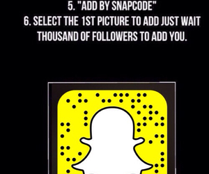 snapchat, followers, and funny image