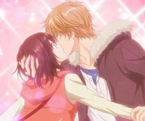anime, kiss, and anime couple image