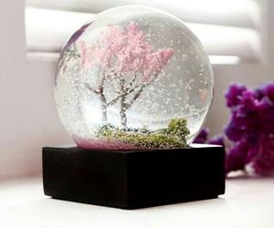 glass, globe, and kawaii image