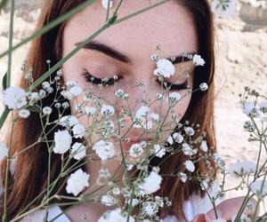 flowers, fresh, and grunge image