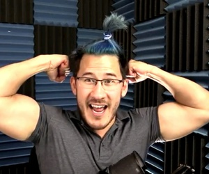 youtube, internet famous, and markiplier image