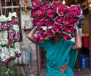 flowers, india, and pretty image