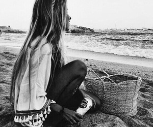 beach, clothes, and tropical image