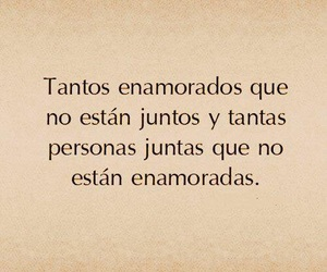 love, frases, and enamorados image