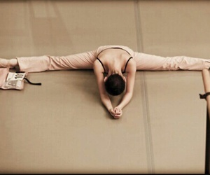 ballet, beige, and fit image