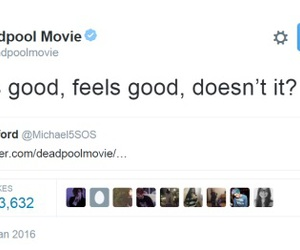 deadpool, twitter, and 5sos image