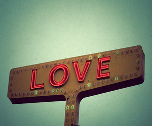 love, photography, and sign image