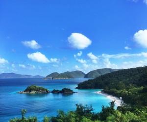 beach, Caribbean, and heaven image