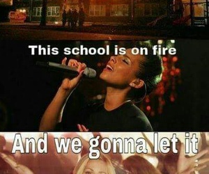 school, burn, and funny image