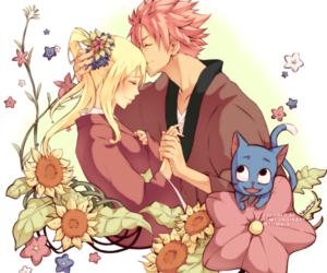 nalu, fairy tail, and natsu dragneel image