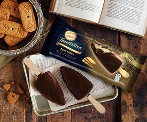 chocolate, vanilla, and ice cream image
