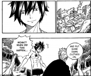 gray, laxus, and fairytail image