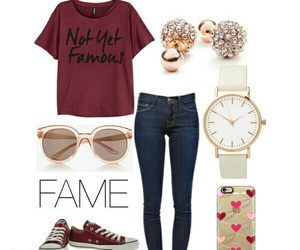 burgundy, clothes, and converse image