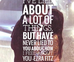 couples, ezra, and font image