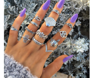 fashion, girls, and hands image