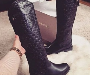 fashion, gucci, and boots image