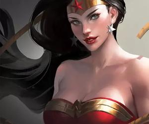 art, wonder woman, and DC image