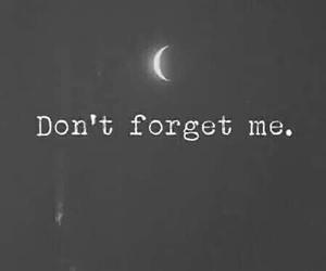 forget, moon, and sad image