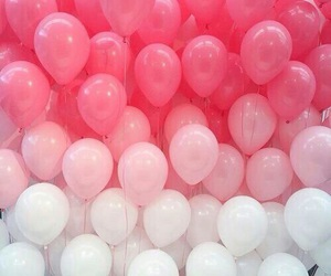 balloons, white, and favorite image