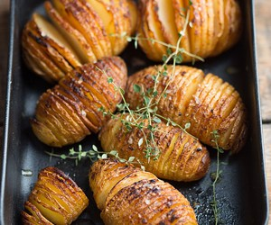 chipotle, potato, and hasselback image
