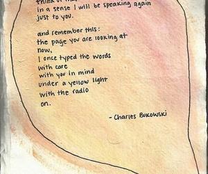 quote and charles bukowski image