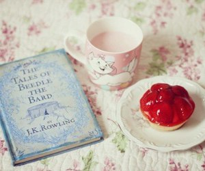 book, harry potter, and food image