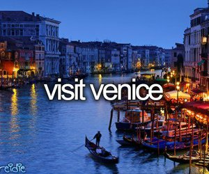 venice, before i die, and italy image