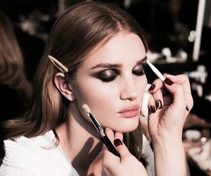 makeup, rosie huntington-whiteley, and beauty image