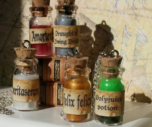 harry potter, potions, and hogwarts image