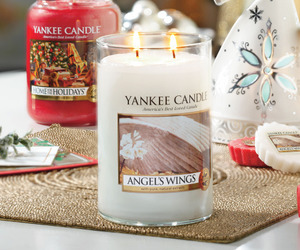 candle, tart, and yankee image