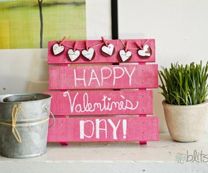 decorations, valentine's day decor, and pallet ideas image