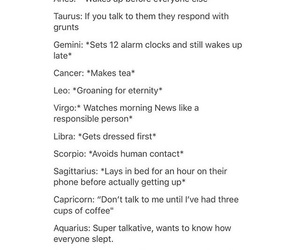 astrology, funny, and horoscope image