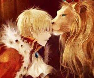 anime, lion, and hetalia image