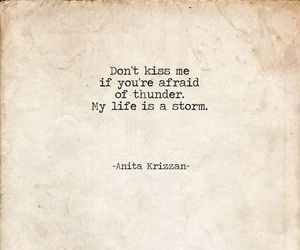 life, storm, and quote image