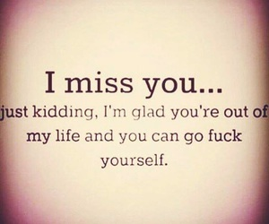 to my ex and i miss you not image