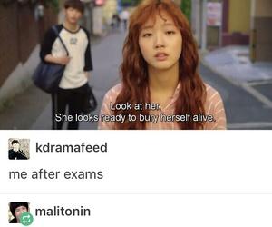 funny, drama, and korean image