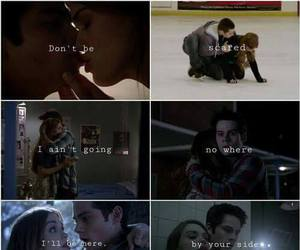 teen wolf, stydia, and stiles and lydia image