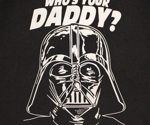 star wars, darth vader, and daddy image