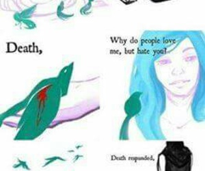 life and death, beautiful lie, and painful true image