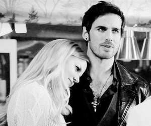 emma swan, ️ouat, and couple image