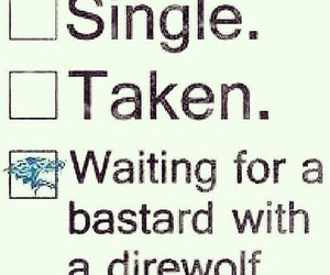 got, game of thrones, and direwolf image