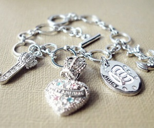 bracelet, juicy couture, and jewelry image