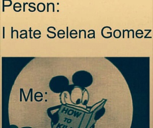 mickey mouse, book, and selena gomez image