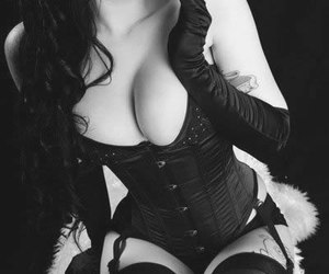 corset, Pin Up, and sexy image