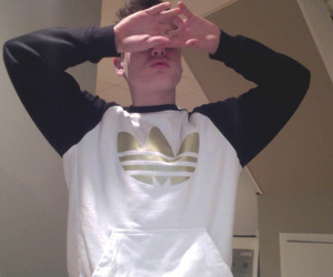 boy, pale, and adidas image