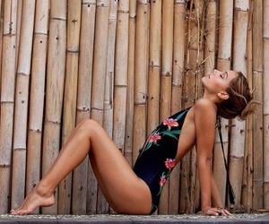 summer, beach, and alexis ren image