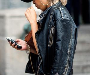 biker, cool, and fashion image
