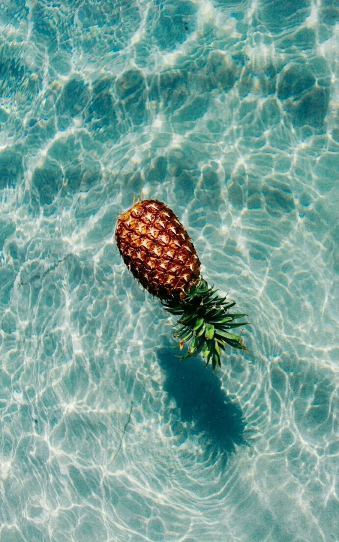 ananas, pineapple, and background image