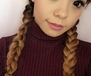 asian, braids, and dolly image