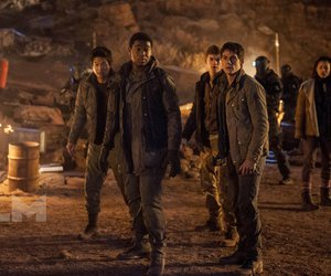 thomas, Minho, and the scorch trials image